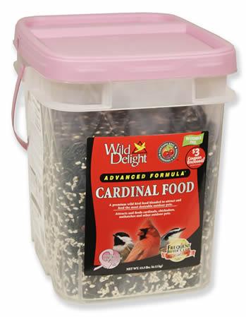 Wild Delight Cardinal Bird Seed, 13.5 lbs.