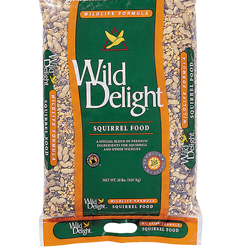 Wild Delight Squirrel Food, 20 lbs.