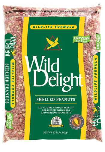 Shelled Peanuts Bird Seed - 10 lbs.