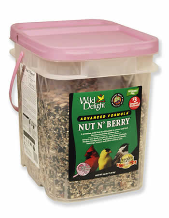 Wild Delight Nut N' Berry Bird Seed, 16 lbs.