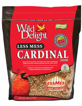 Less Mess Cardinal Bird Seed