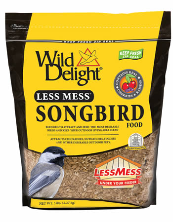 Less Mess Songbird Bird Seed
