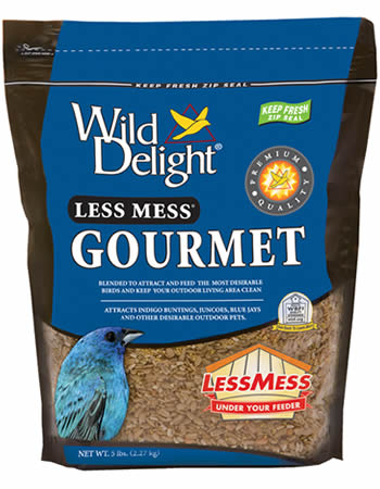 Less Mess Gourmet Bird Seed