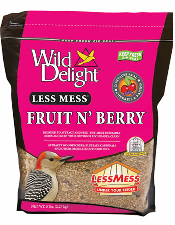Less Mess Fruit N Berry Bird Seed