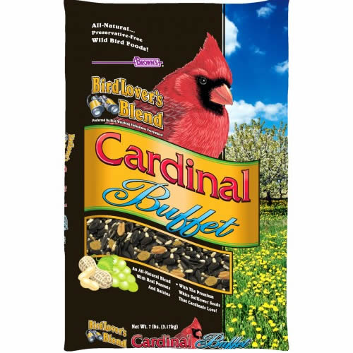 Bird Lover¢ '¬ s Blend' Cardinal Buffet