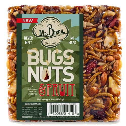 Bugs, Nuts, & Fruit Block Small, Set of 3