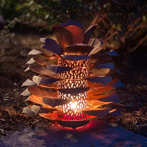 Pine Cone Luminary