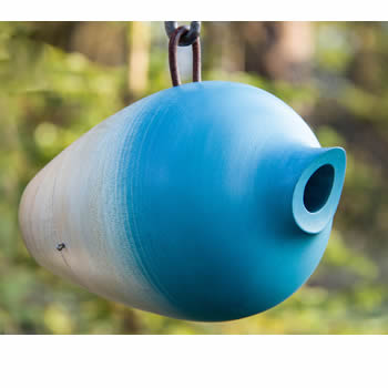 Helmet Bird Home Blue