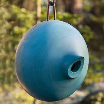 Ellipse Bird Home Blue