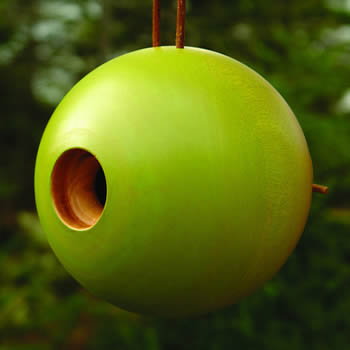 Globe Bird Home Green