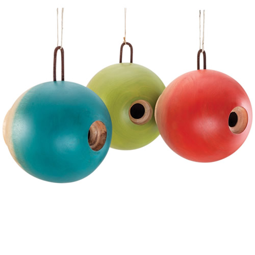 Globe Bird Home Orange