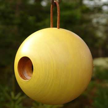 Globe Bird Home Yellow