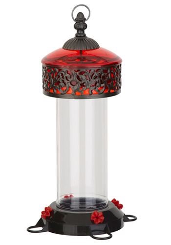Red Victorian Nectar Feeder