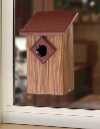 Eco View Window Bird House