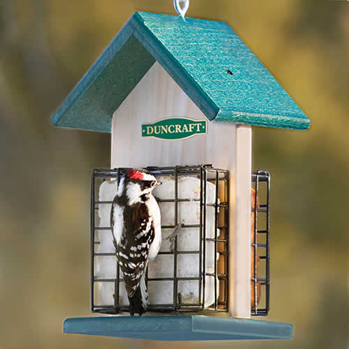 Duncraft 2 Sided Suet Chalet