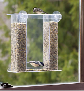 Birds Eye View Window Feeder