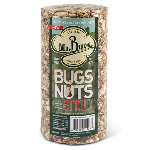 Bugs, Nuts Fruit Small Cylinder