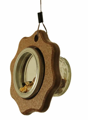 Mini Squirrel Jar Feeder