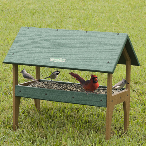 Eco-Strong Ground Tray Feeder