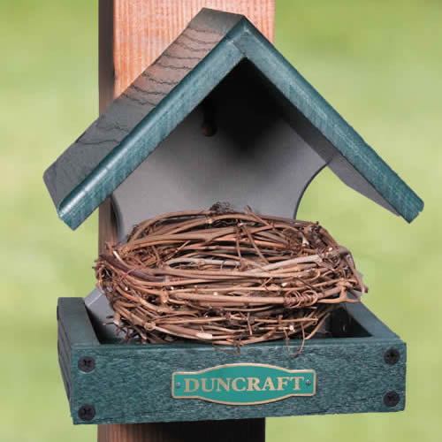 Classic Songbird Nesting Shelf