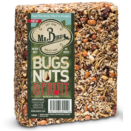 Bugs - Nuts - and Fruit Large Block