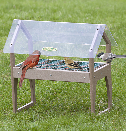 Clearview Ground Platform Feeder