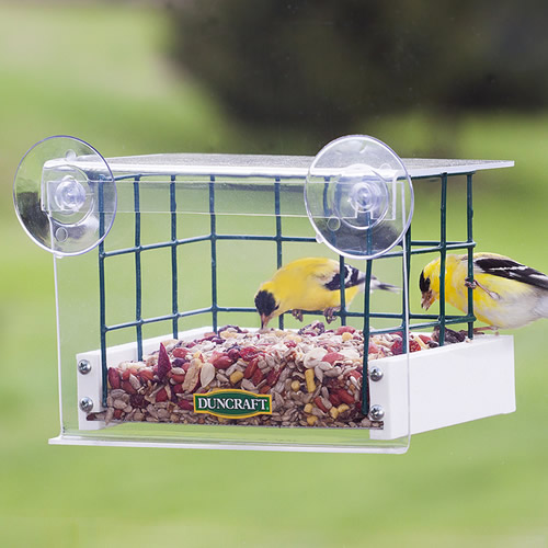 Sheltered Haven Window Feeder