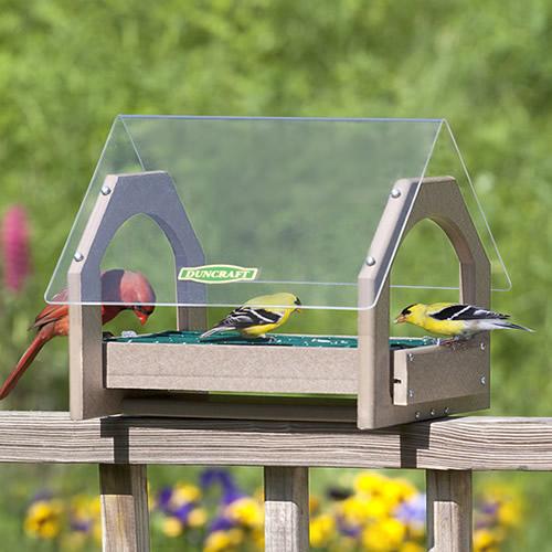 Universal Platform Seed Saver Bird Feeder