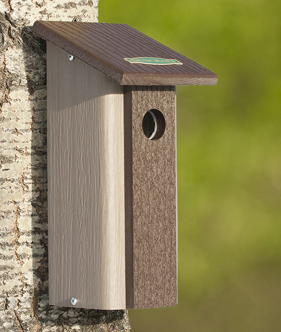 Downy Woodpecker Bird House