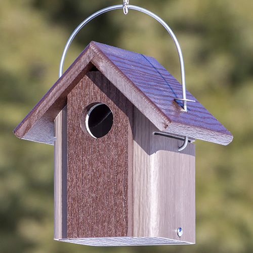 Hanging Chickadee Bird House