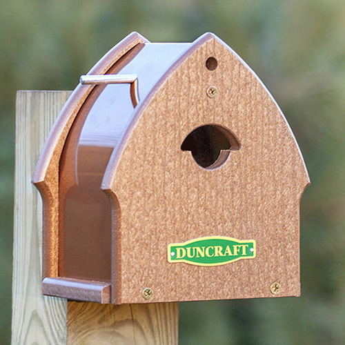 The Chickadee Enterprise Bird House