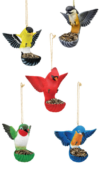 Assorted Flying Bird Feeders
