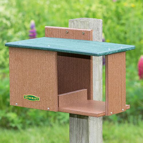 Bird-Safe® Cardinal Hide-A-Way