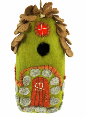 Woolie Forest Bird House