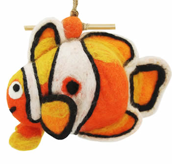 Woolie Clown Fish Bird House
