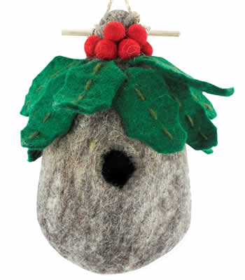 Woolie Holly Bird House