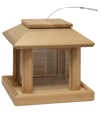 Bird Pavilion Seed Feeder