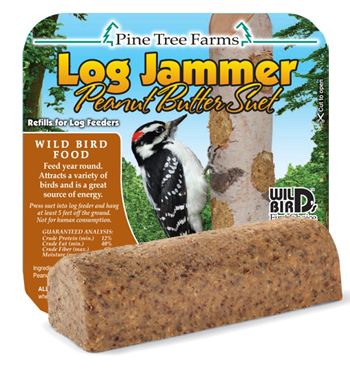 Log Jammer Peanut - 12 Suet Plugs