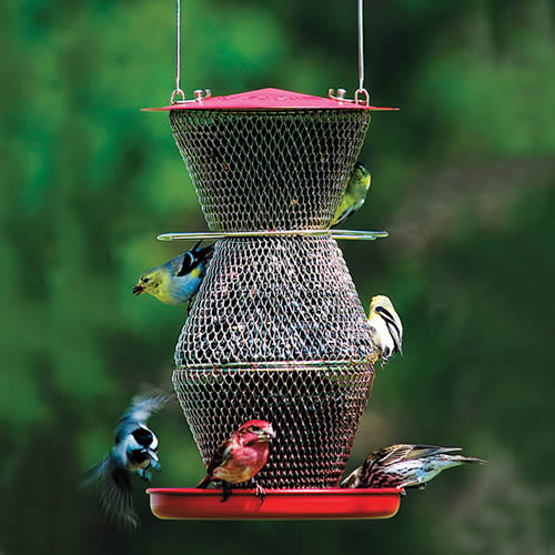 No/No 3 Tier Mesh Bird Feeder