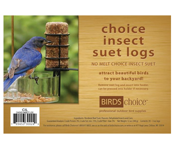 Insect, 4 Suet Logs