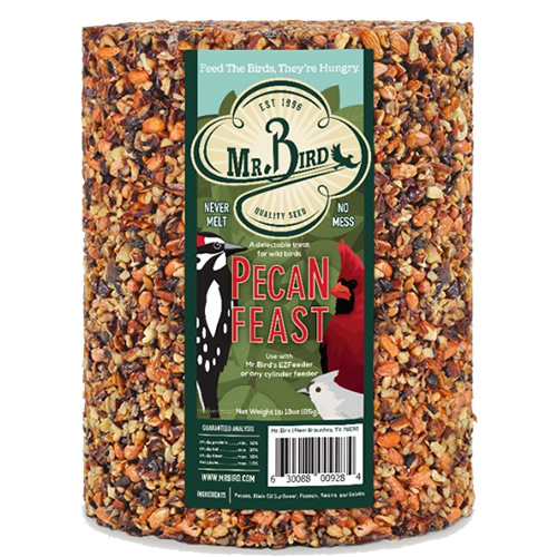 Pecan Feast Seed Cylinder, 72 oz