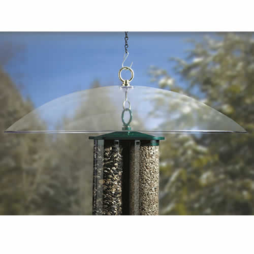 "20"" Clear Squirrel Baffle"