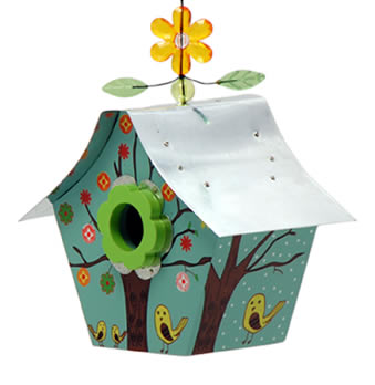 Four Seasons Retro Bird House