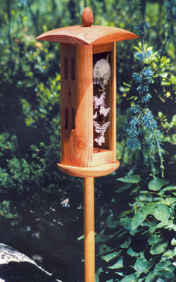 Duncraft Com Butterfly House Pole Mount