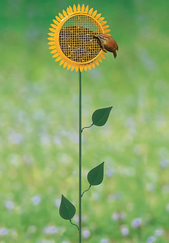 Sunflower Stake Feeder