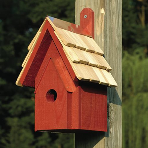 Duncraft Com Classic Bird House Redwood