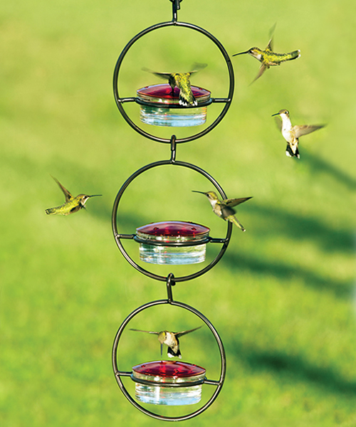 Sphere Hummingbird Feeder, Set of 3