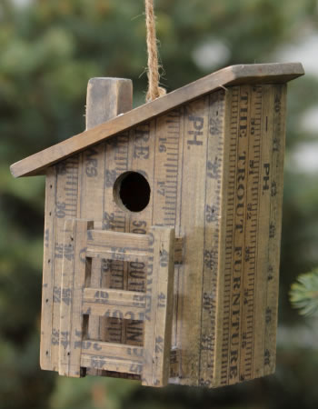 Duncraft Com Measure Up Birdhouse With Slanted Roof