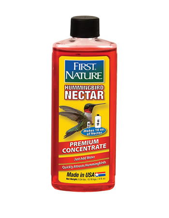 First Nature Red Hummingbird Nectar