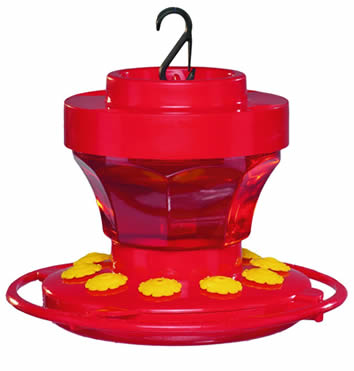 16 oz. Hummingbird Flower Feeder